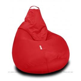 Бескаркасное кресло Студент красный