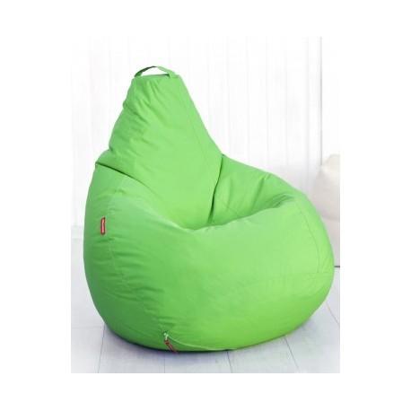 Кресло бескаркасное Студент Зелёный